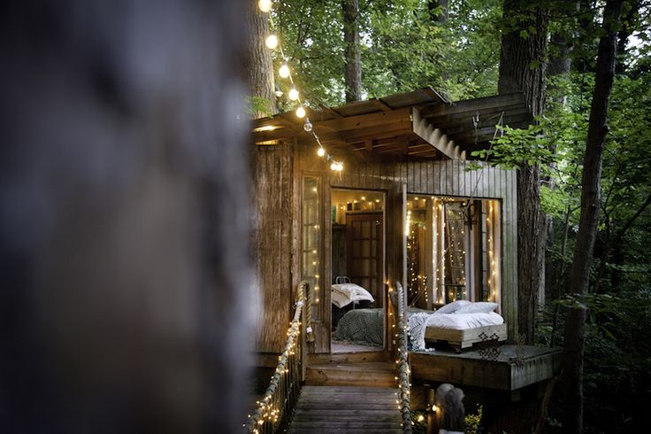 Sure, you could go for a five-star hotel in Atlanta's city center. But why not book this magical, dreamy woods-surrounded treehouse for two — Airbnb's most wish-listed property? Just be sure to plan ahead: The $375-a-night wonder books up fast.
