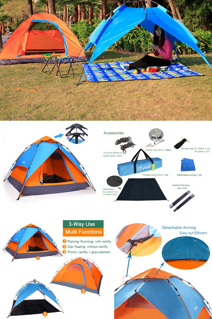 #Amazon 30%off #Discount Code: UDIIDXM7 Amazon ASIN:B00WO8E4EO  #Yodo Automatic Pop up Tent for #Outdoor #Camping #Backpacking with Carry #Bag for 2 Man or 3 Man ,Orange/ Blue  http://amzn.to/2uaGe9D