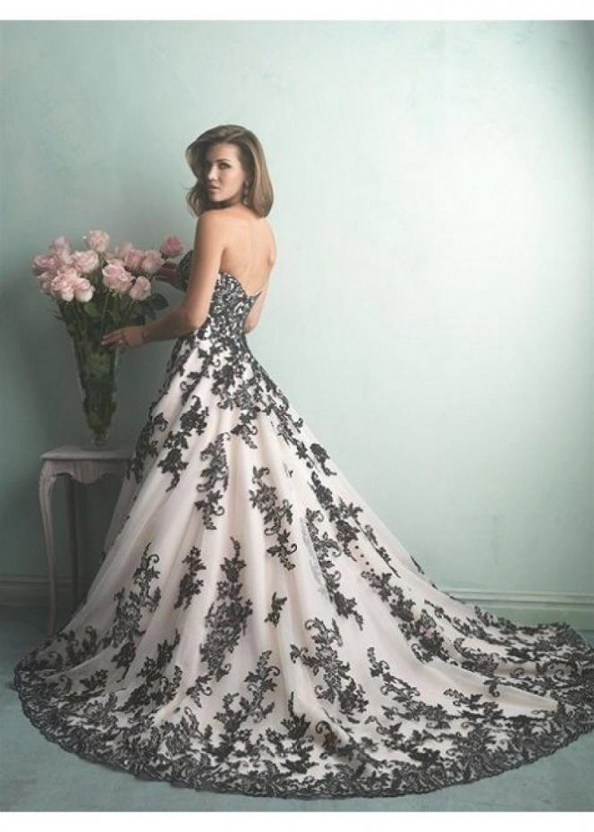 30 Black And White Bridesmaids Dresses For Weddings