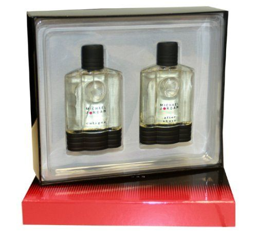 Michael Jordan By Michael Jordan For Men. Gift Set ( Eau De Cologne Spray 3.4 Oz + Aftershave 3.4 Oz). by Michael Jordan. $26.96. Packaging for this product may vary from that shown in the image above. This item is not for sale in Catalina Island. MICHAEL JORDAN For Men 2 PC. GIFT SET ( EAU DE COLOGNE SPRAY 3.4 oz + AFTERSHAVE 3.4 oz) by Michael Jordan