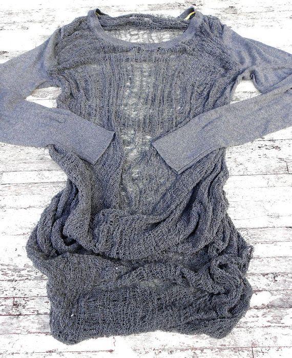 At true rebel Clothing Boho shredded shirt