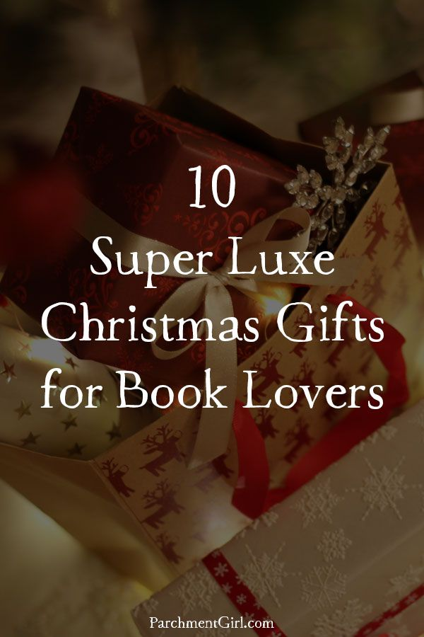 Want to give something extra special to the book lover in your life this Christmas? These extravagant gifts are sure to wow!
