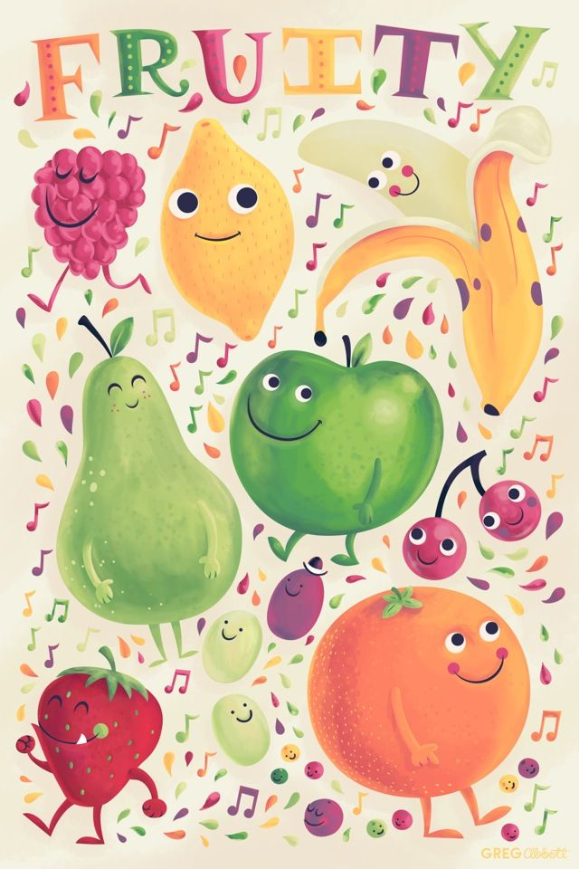 """Be """"fruity"""" !    """"The fruit of the Spirit is love, joy, peace, patience…"""