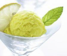 Apple and Lemon Zest Sorbet