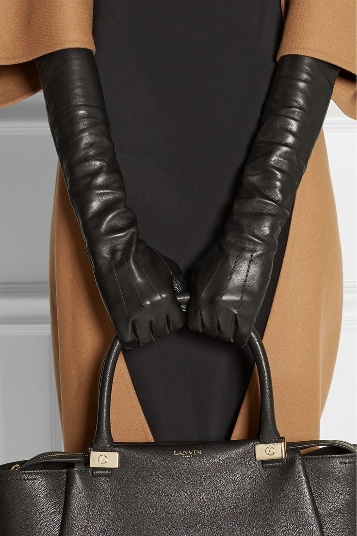 Lanvin | Leather gloves | NET-A-PORTER.COM