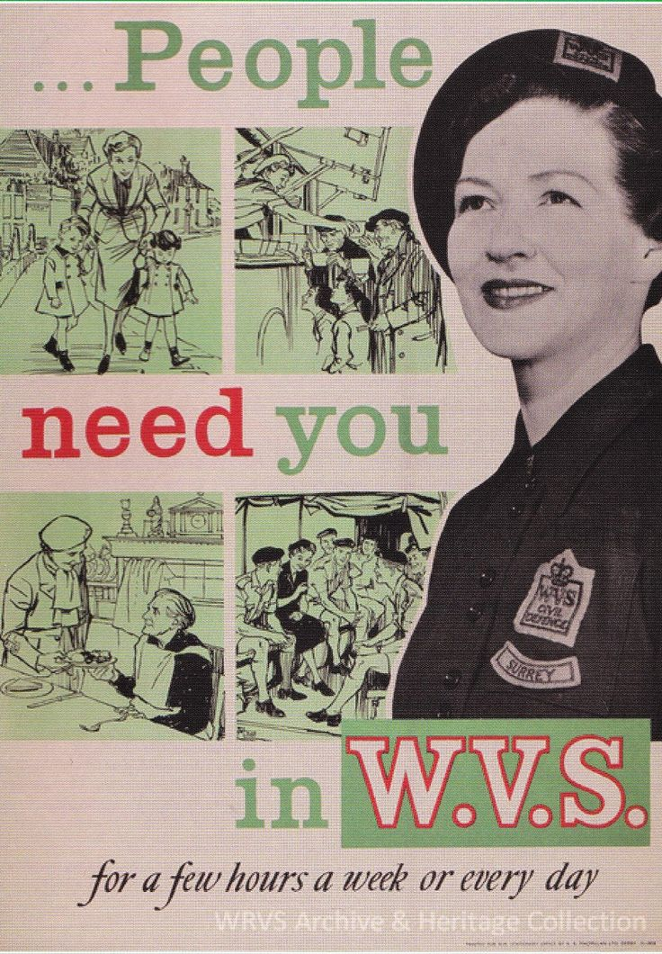 People Need You, © WRVS Archive & Heritage Collection I collect online archives on the simple premise that you never know when you mig...