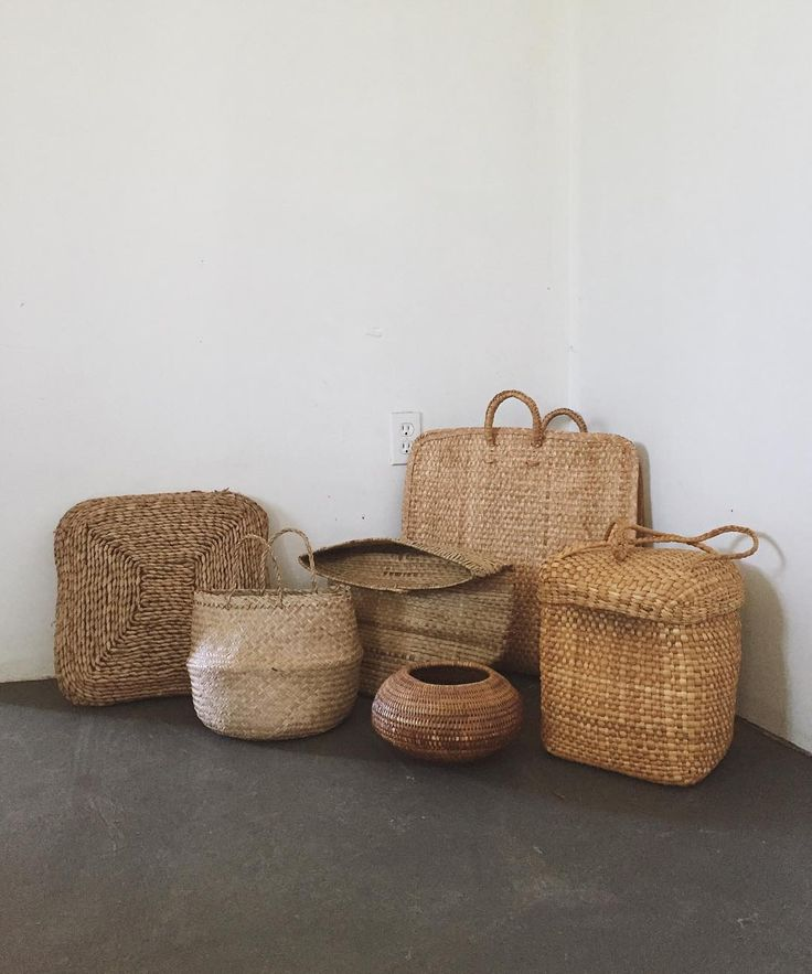 Baskets so many baskets