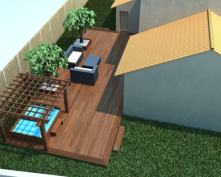 Résultats de recherche d'images pour «amenagement spa jardin»