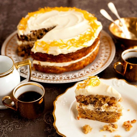 The addition of parsnip to this nutty, orange and parsnip cake makes for a deliciously moist alternative to carrot cake