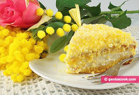 The Recipe for Mimosa Cake | Baked Goods | Genius cook - Healthy Nutrition, Tasty Food, Simple Recipes