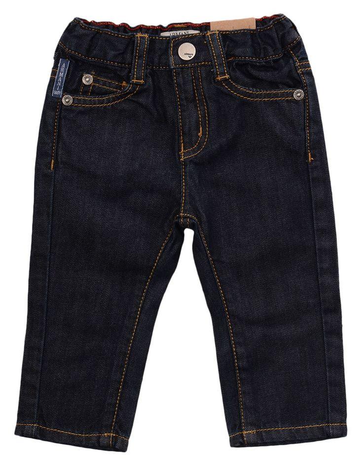 Armani Unwashed Denim Regular Jeans   Accent Clothing