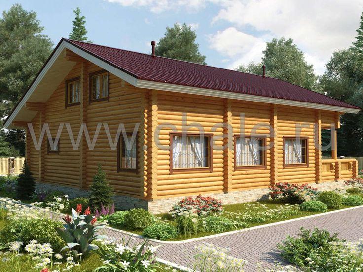 Плес - Деревянные дома из бруса. Отличный выбор домов по оптимальным ценам