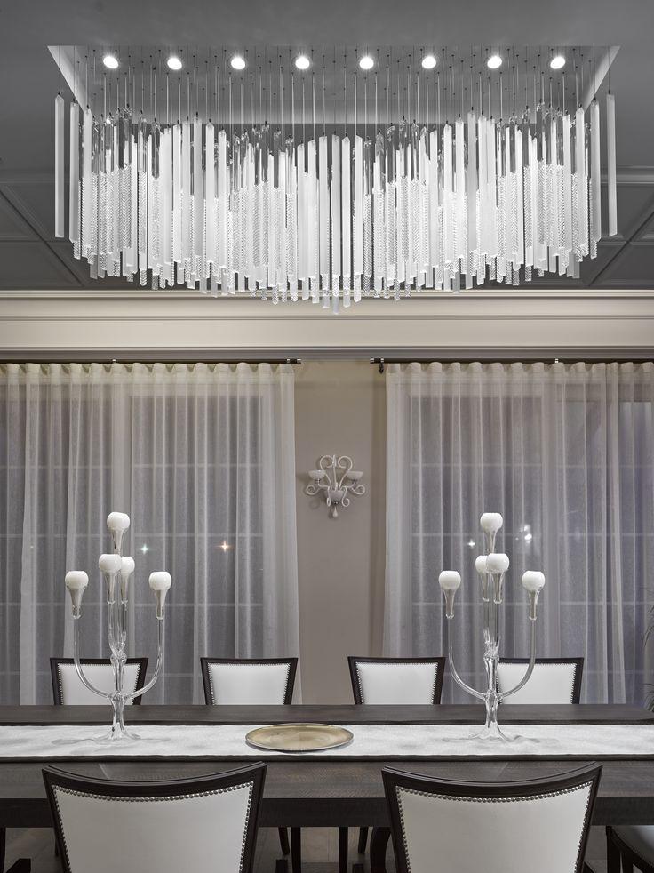 1306 best lighting images on pinterest lamp light lighting design and lights - Spectacular glass chandelier shades for more elegant interior ...