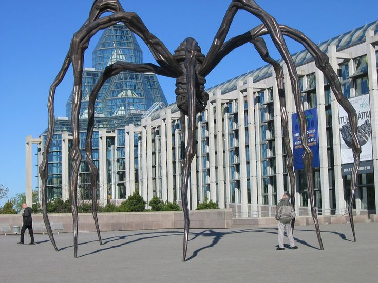 National Gallery of Canada and Maman Sculpture Credit - Ottawa