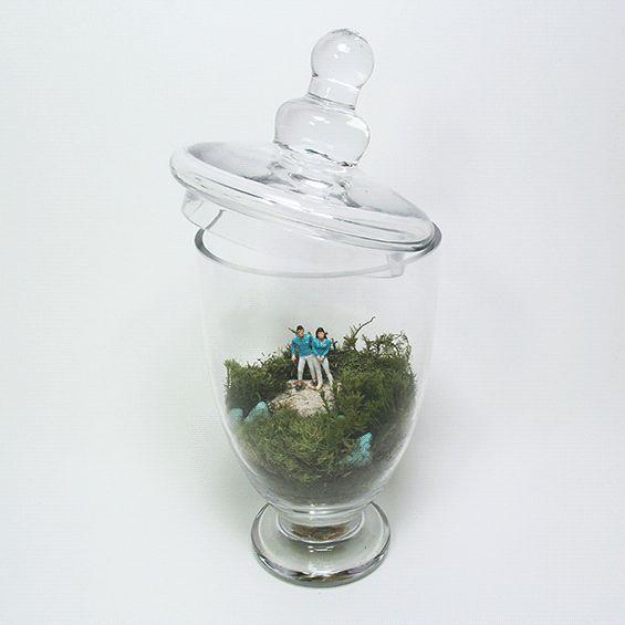 Terrarium for my friend's wedding