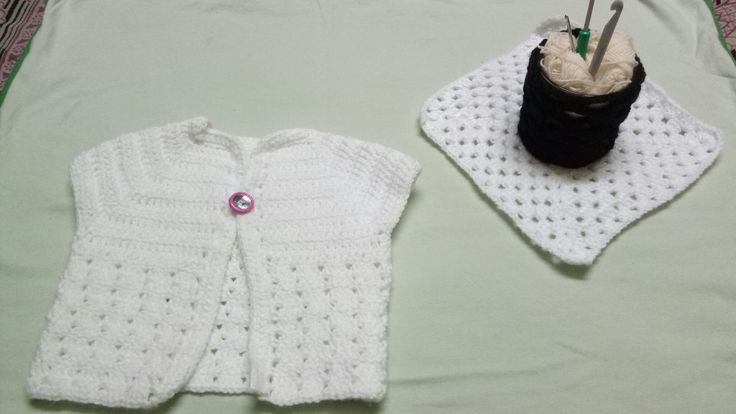 Baby cardigan (   12-18 months ) By TheWeaverNest.