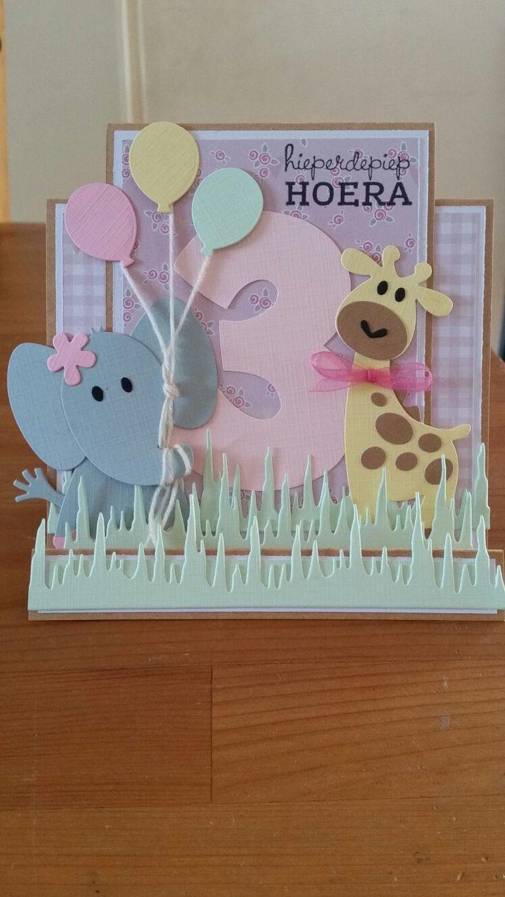 Marianne's cards - Verjaardagskaartje voor kids #1