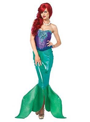 Märchen Meerjungfrau Kostüm ♥ | online kaufen |  maskworld.com #halloween #maskworld #mermaid #arielle