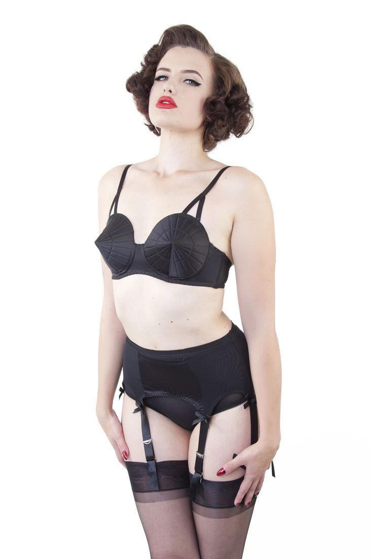 Retro Bullet Bra by Bettie Page $34.00 AT Vintagedancer.com