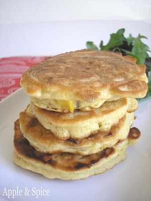 Spicy Sweetcorn Pancakes