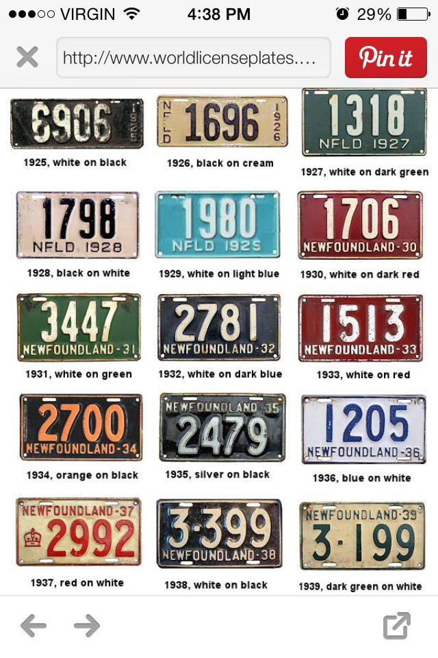 NL license plates