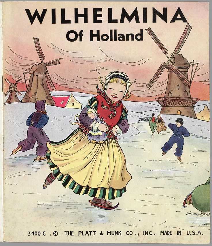 Wilhelmina of Holland. Collectie Edelman: Books about Holland