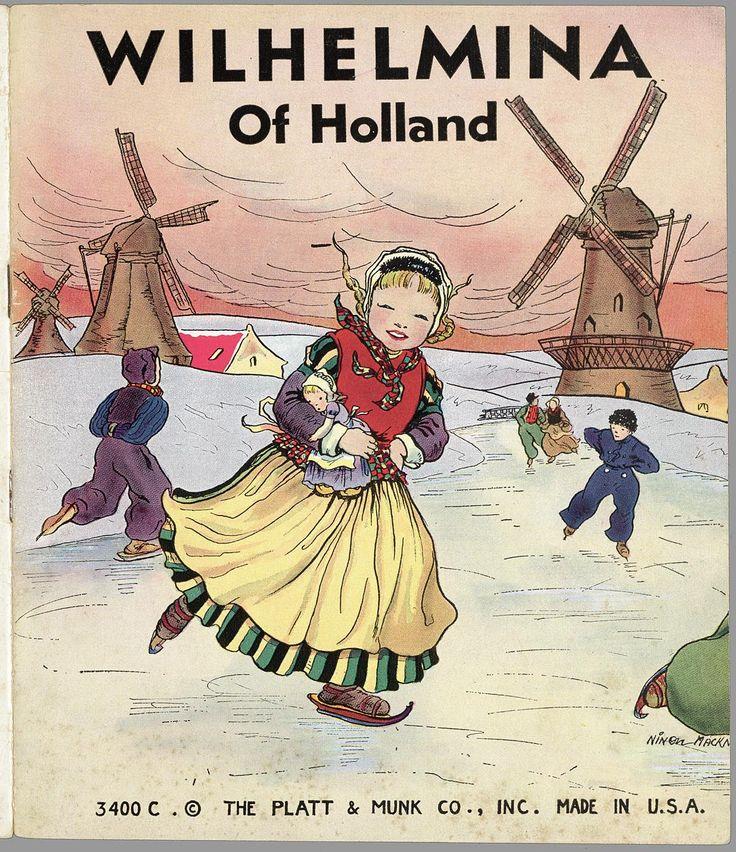 Wilhelmina of Holland. Collectie Edelman: Books about Holland