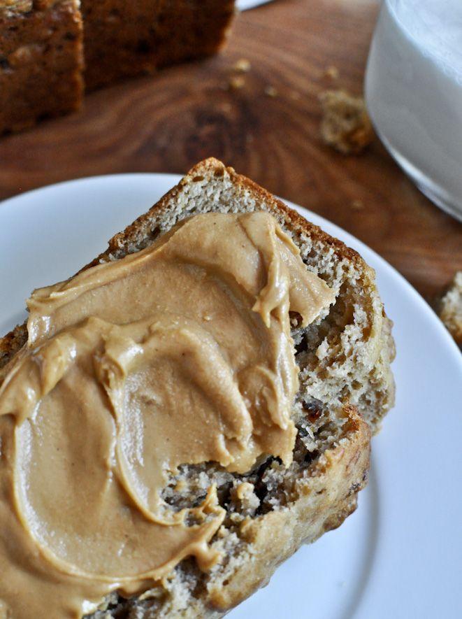 peanut butter bacon banana bread.