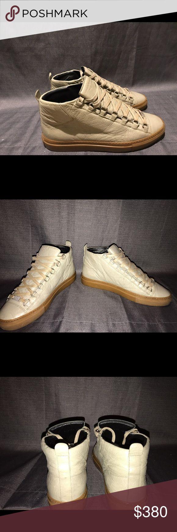 Men's Balenciaga Arena Size 41(US8) 9/10 condition Men's Rare Green Balenciaga Arena Shoes. Very well maintained. 9/10 condition. Barely ever worn. Balenciaga Shoes Sneakers