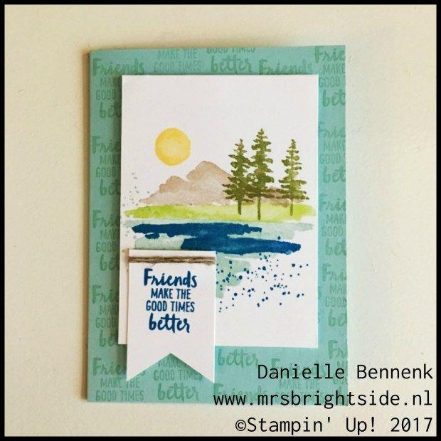 Waterfront Stampin' Up - Sneak Peek - Mrs. Brightside - Danielle Bennenk