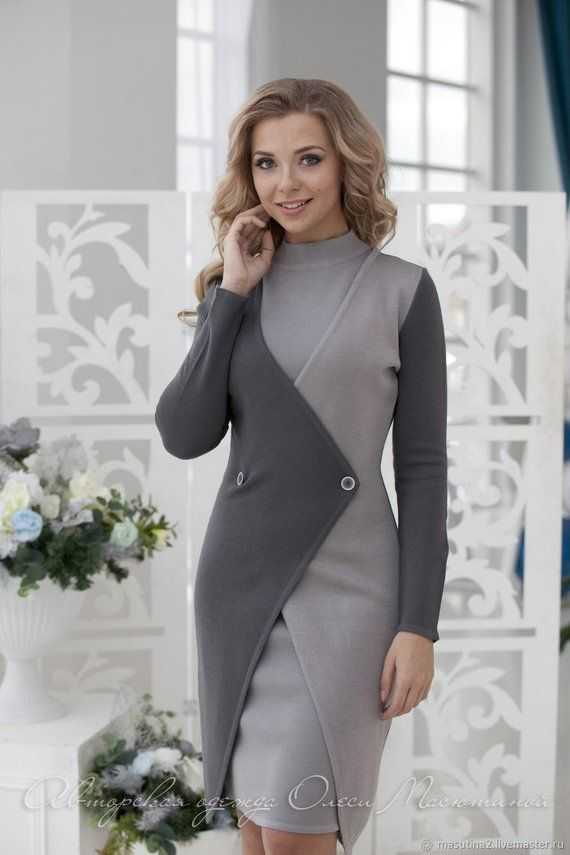 """Stylish business woman suit """"London"""" Consists of a sheath dress and cardigan wit…"""