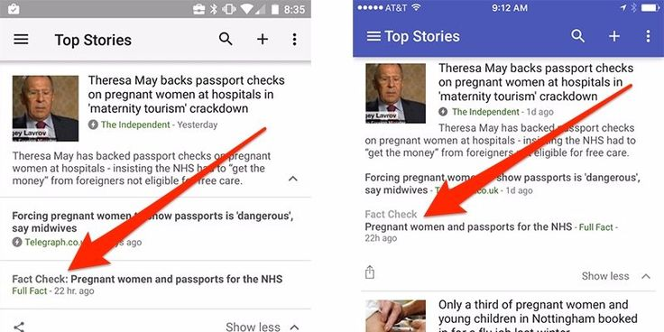 """The company introduced a new feature Thursday that will tag and help find """"fact checking in large news stories."""""""
