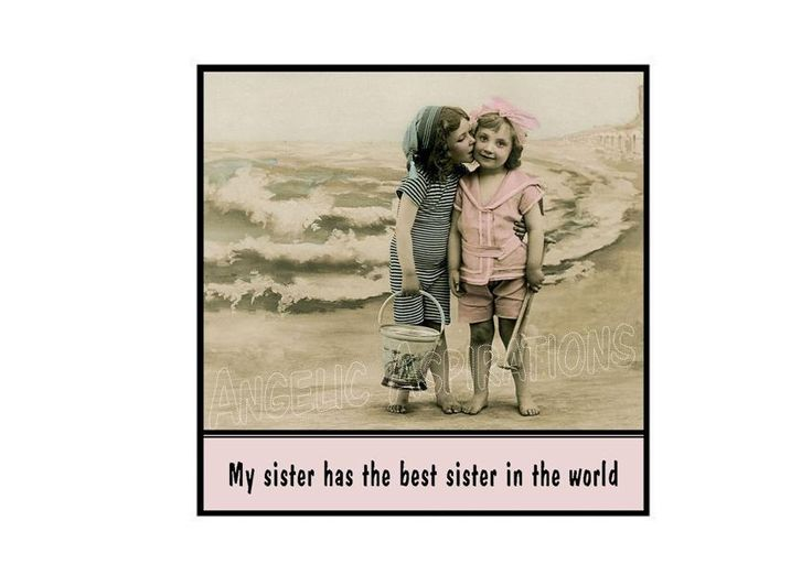 Magnet  My sister has the best sister in the by AngelicAspirations, $2.75