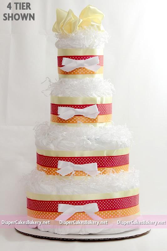Diaper Cakes Las Vegas Baby Shower Cake