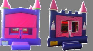 Princess bounce house rentals in Phoenix Az.