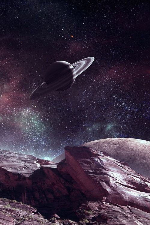 Saturn... That is beautiful, awesome, and cool