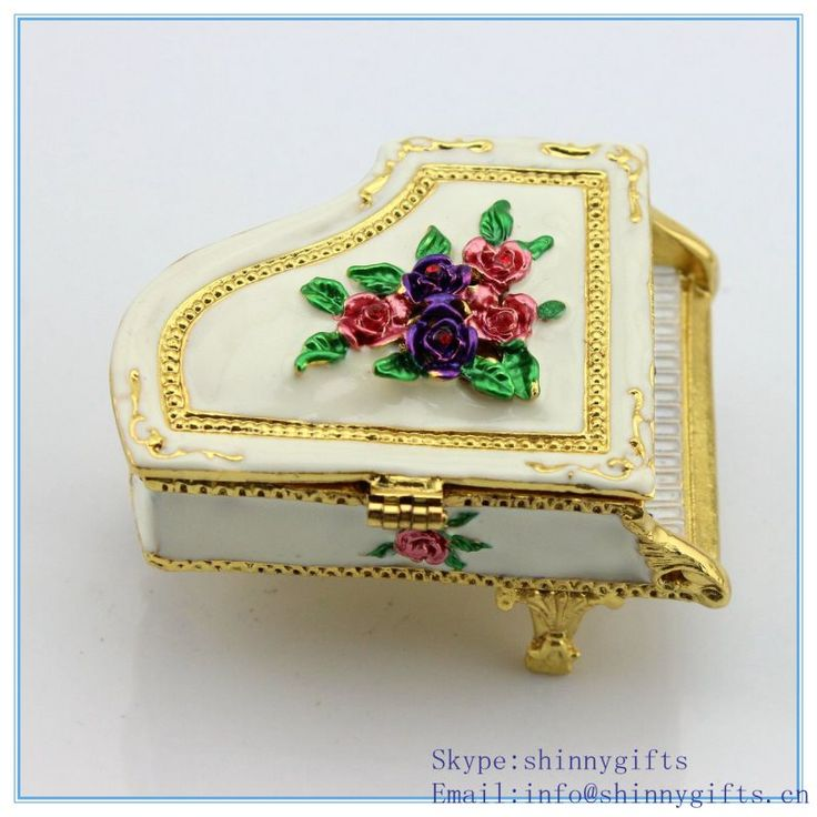 Find More Storage Boxes & Bins Information about Whole Sale Rose Design Piano Shape Jewelry Box  Metal Jewelry Box For Girls Gift,High Quality box for,China jewelry box for girls Suppliers, Cheap box metal from Shinny Gifts CO., Ltd on Aliexpress.com