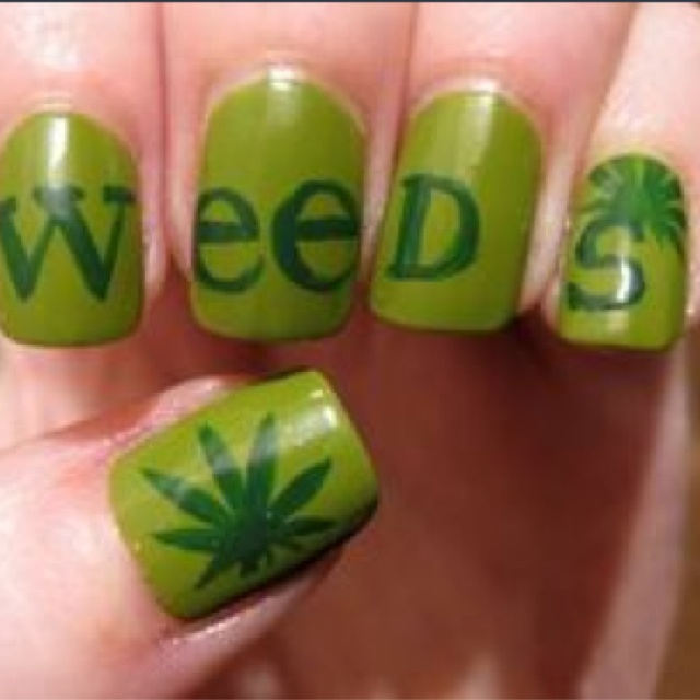 33 best ♡ 420 Nails.♡ images on Pinterest   Weed nails, Nail arts ...