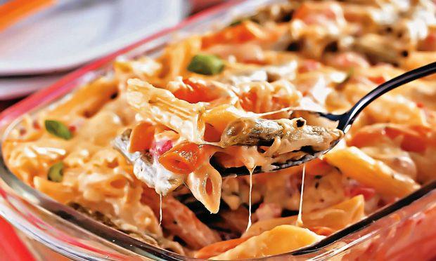 Uma receita deliciosa para sua refeição! esse macarrão deixa qualquer prato uma maravilha - Aprenda a preparar essa maravilhosa receita de Macarrão de forno fácil