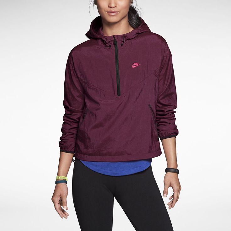 Nike RU Fast Track Half-Zip Women's Hoodie. Nike Store UK