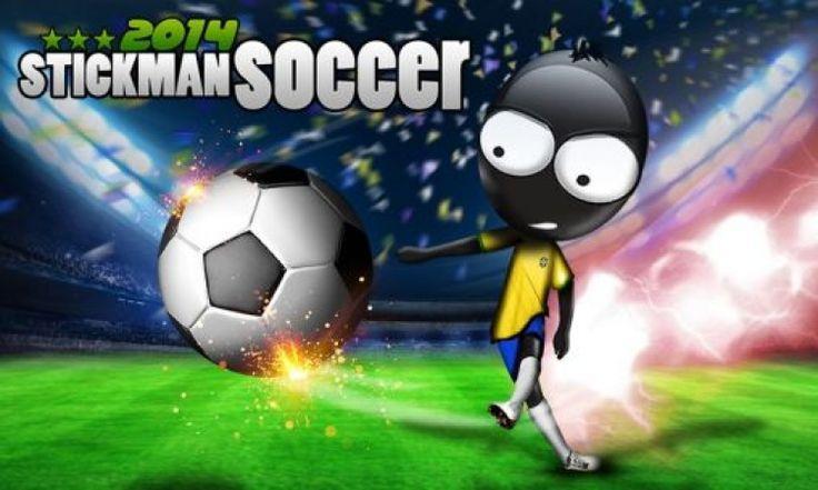 Smartphones : 13 jeux qui risquent de vous faire rater votre année scolaire Stickman Soccer 2014