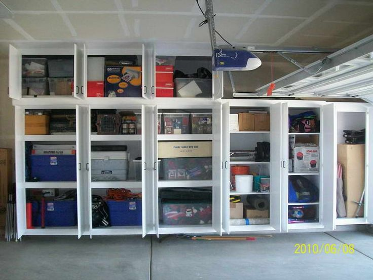 Best Tidy Garage Storage Shelves Plans