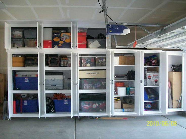 Diy Garage Cabinets Storage Plans