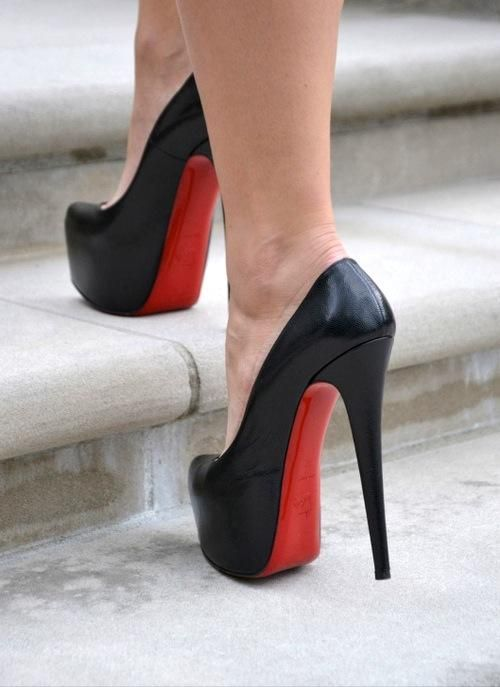 christian louboutin high heels shoes