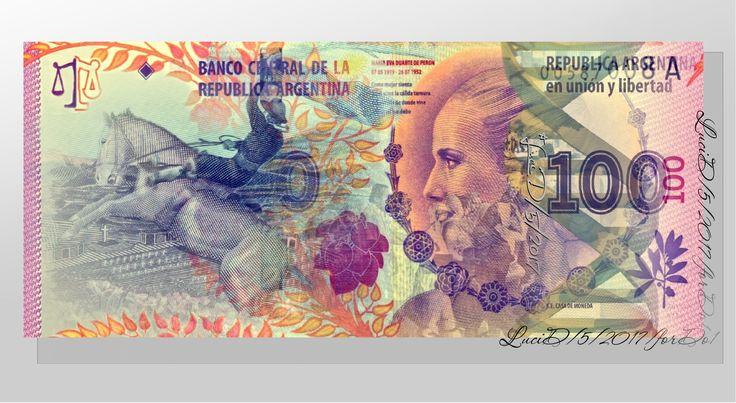 BankNot Argentina-Evita