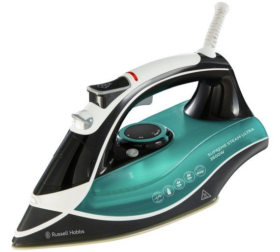 Buy Russell Hobbs Supreme Steam Electric Clothes Iron 23260 at Argos.co.uk, visit Argos.co.uk to shop online for Irons, Laundry and cleaning, Home and garden