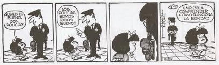 ¿todos los policías son buenos?