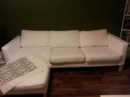 Ikea Sofa Karlstad Ebay Kleinanzeigen Contemporary Urban Home Ideas
