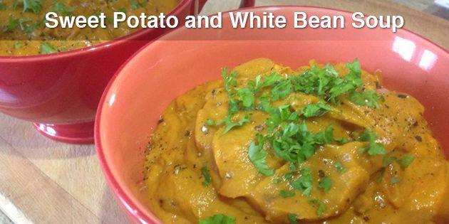 Sweet Potato and White Bean Soup