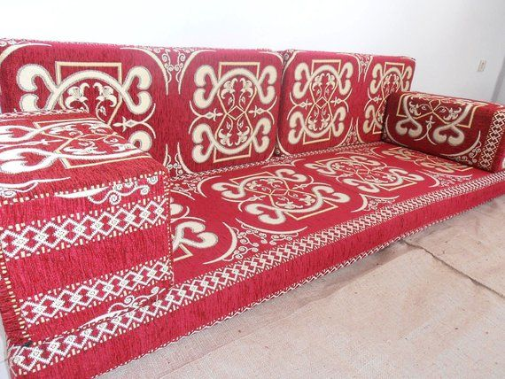 Arabic style majlis floor sofa set, floor couch, oriental floor seating ,bohemian furniture,living r